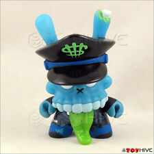 Kidrobot Dunny 2011 series blue Zombie Biker by MAD complete mystery Kronk parts