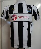 NEWCASTLE UNITED BOYS 2012/13 S/S HOME SHIRT BY PUMA SIZE 32/34 BRAND NEW