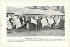 1917 Mattresses For The Student Officers Bunks At Plattsburgh Camp Us