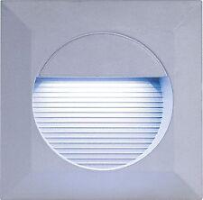 Knightsbridge NH016W Moderno Giardino Esterno LED Luce Da Incasso A Parete