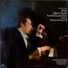 BACH: The Well-Tempered Clavier Book 2, Vol. 4-SEALED1968LP GLENN GOULD 2-EYE?
