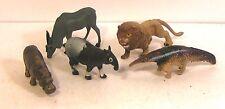 "lot figurines publicitaires biscottes prior ""animaux le zoo"" lot D"