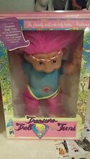 "TREASURE TROLL TEENS 18"" Doll w/ WishStone - Ace Novelty Co.- Workout Girl- NEW!"