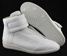 S - Men's MAISON MARTIN MARGIELA 'Future' Hi-Top Sneakers US 11 ITA 44 (White)