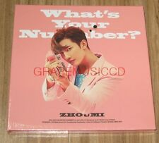 ZhouMi SUPER JUNIOR M What's Your Number? 2ND MINI ALBUM CD + FOLDED POSTER NEW