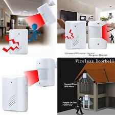 Wireless Motion Sensor Alarm Doorbell Shop Music Chime Welcome Entry Door Bell