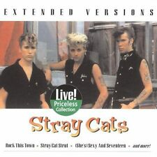 Extended Versions by Stray Cats: RECORED LIVE  (CD-2005, Collectables) SEALED