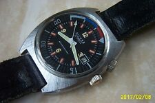 A SICURA MANUAL WIND DIVERS WRISTWATCH c.EARLY 1970'S
