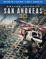 San Andreas (3D Blu-ray Disc ONLY, 2015)