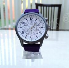 VERSACE Mens Watch Chrono Versus by Versace Collection RRP £190 Purple Genuine