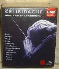 Celibidache First Authorized Edition 4 EMI (14CD + Bonus CD) SEALED