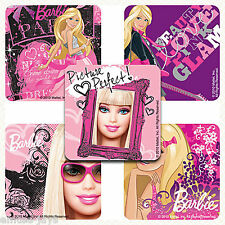Barbie Stickers x 5 - Party Supplies, Rewards, Favours - Cool Pink Barbie - Loot