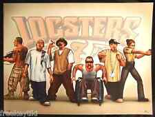 RARE New LIL LOCSTERS Poster Series #7 Cholo Gangster Latino Lowrider 18x24""