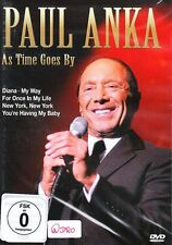 Paul Anka + DVD + As Time Goes By + 19 Songs + Konzert Live + TOP + NEU + OVP +