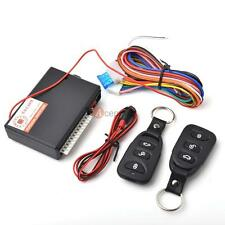 Car Vehicle Auto Remote Central Lock Locking Kit Keyless Entry with 2 Remote US