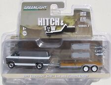 GL HITCH & TOW SERIES 3 1977 CHEVY G20 VAN FLATBED TRAILER WITH WORKING RAMPS