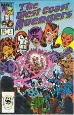WEST COAST AVENGERS #2 NEAR MINT MARVEL COMICS 1984 bin16-562