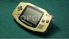 Nintendo Game Boy Advance console Gold new screen GBA by TOPGEAR.jp