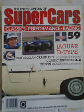 Encyclopedia of Super Cars 59 Jaguar D type