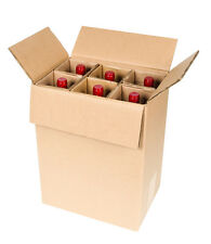 6 Bottle Wine Shipping Box SpiritedShipper.com boxes are UPS & FEDEX Approved