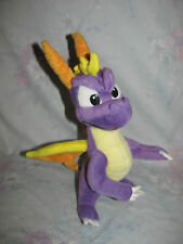 "2001 Plush Spyro the Dragon Figure by Play by Play 11""-12"" tall"