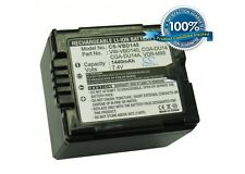 7.4 V Batteria per PANASONIC NV-GS230EB-S, nv-gs300eg-s, PV-GS50, VDR-D210, NV-GS3