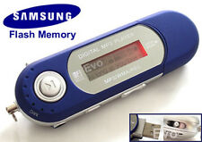 NUOVO BLU USB 2.0 8GB MP3 WMA Player con FM e registrare