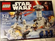 LEGO STAR WARS 75138 HOTH ATTACK NEW INCLUDES MINI FIGURES