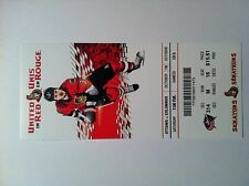 OTTAWA SENETORS VS COLUMBUS BLUE JACKETS 10/18/2014 HOME GAME #2