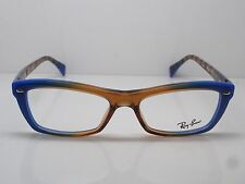 NEW Authentic Ray Ban RB 5255 5488 Blue/Brown 51mm RX Eyeglasses