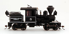 Bachmann On30 Scale Train Stearns-Heisler DCC Equipped Greenbrier Big Run 28805