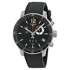 Tissot Quickster Soccer World CupBlack Silicone Mens Watch TIST0954491705700