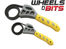 NEW Strap Wrench Set 2pc Oil Filter Wrenches Wrenches, Oil Filter PIPE TOOLS DIY