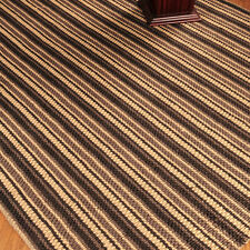 """Basilica"" Jute Rug, Hand Loomed by Artisan Rug Makers, 8' x 10'"