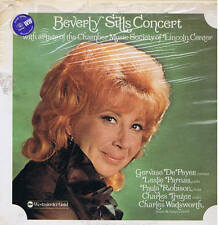 BEVERLY SILLS CONCERT with Chamber Music Society Lincoln Center - LP ABC sealed