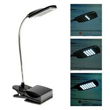 New USB Flexible 28 LED 3 Modes Clip On Desk Lamp Beside Bed Table Reading Light