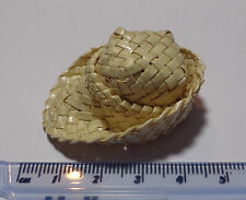 1:12 Scale Woven Straw Hat (PW) Doll House Miniature
