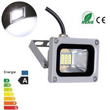 10W LED Flood Light 12V Cool White 6000-6500K Lamps for Outdoor Garden Lighting