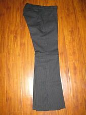 OLD NAVY Maternity Work Dress Career Black with white stripes Pants 1 XS