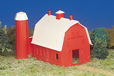 BACHMANN PLASTICVILLE HO GAUGE RED BARN KIT train building BAC 45151