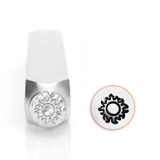 ImpressArt Sun Metal Design Stamp, 6mm- Space, Steel Hand Punch for Jewelry