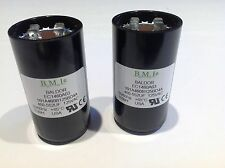 2 Baldor Motor Starting Capacitors 125VAC 460-552UF