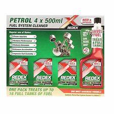 1x 500ml REDEX One Shot Detergente per motori a benzina carburante iniezione redx Rosso