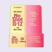 No Shot B-12 1000mcg World Organics 100 Tabs