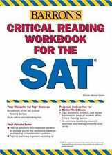 Barron's Critical Reading Workbook for the SAT by Mitchel Weiner and Sharon...