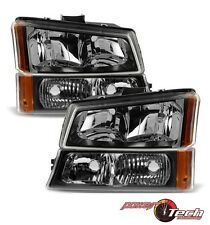 Headlight Parking Light Lamp Kit Set of 4 for Chevy Avalanche 1500 Silverado NEW