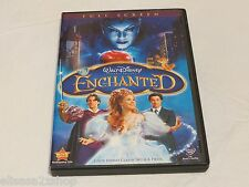 Walt Disney Full screen Enchanted movie DVD Barry Sonnenfeld with deleted scenes