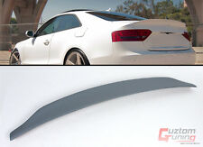 09-2016 AUDI A5 COUPE CAT STYLE POLYURETHANE PU PRIMERED TRUNK LID SPOILER WING