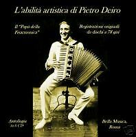 Complete Recorded Works of Pietro Deiro Accordion 6 CDs