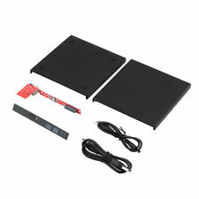 USB 2.0 DVD CD DVD-Rom SATA External Case Slim For Laptop Notebook OV